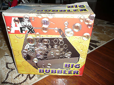 Stage Lighting & Effects Afx Big Bubbler Electric Bubble Machine 110v New