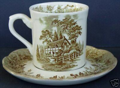 J & G Meakin Romantic England Cup & Saucer