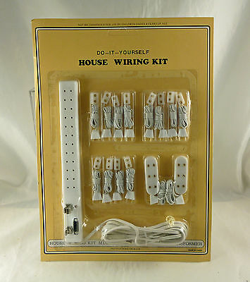 Hobby Dollhouse Wiring Kit With 12 Outlet Power Strip