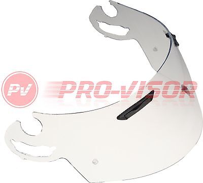 CLEAR PINLOCK READY VISOR FITS ARAI I-TYPE RX7-GP/Axces II/Chaser V