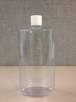 32 OZ Oval Plastic Bottles
