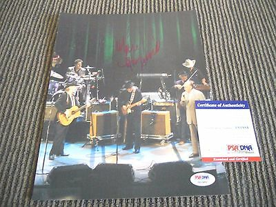 Merle Haggard Live Signed Autographed 8x10 Photo PSA Certified