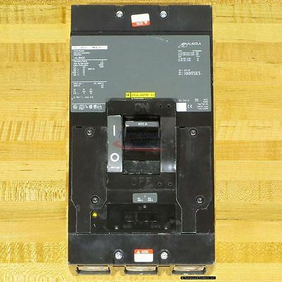 Square D LAL36400 Circuit Breaker, 400 Amp, 600 Volt, NEW!