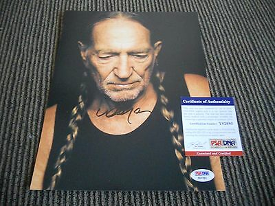 Willie Nelson Promo Signed Autographed 8x10 Photo PSA Certified #5