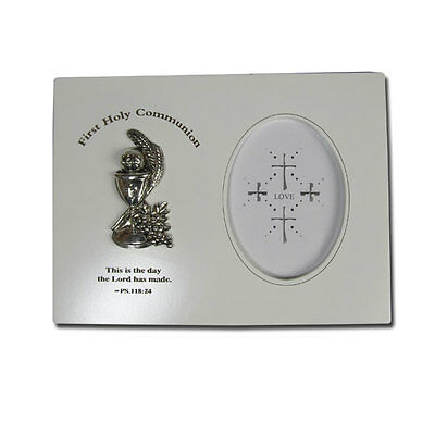 First Holy Communion  Wooden Frame 14Cm X19Cm Religious Event Deco
