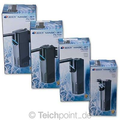 Resun Aquarium Innenfilter MAGIC Serie, Schwammfilter Aquarien Filter