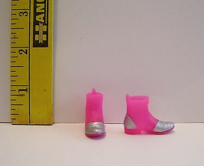 """Only Hearts Club PINK & SILVER BOOT SHOES ACCESSORY FOR THE 9"""" POSABLE DOLL"""