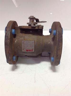 "Watts 2-1/2"" Stainless Steel Flanged Ball Valve 212A Type 250"