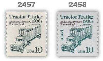 03e6258894 2457 10C TRACTOR Trailer, Mint **ANY 4=FREE SHIPPING** - $0.45 ...