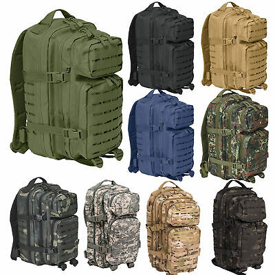 US Rucksack ASSAULT Pack I LASER CUT small, Armeerucksack Outdoor Daypack 30 l