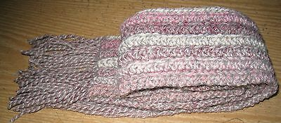 Pink Ombre Scarf~hand crochet~Teens Ladies Accessories Scarves Crochet