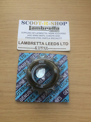Lambretta 16 Tooth Front Sprocket. Sil Packed - Brand New