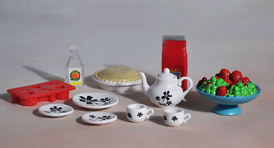 Barbie loose kitchen ware food accessories miniatures lot for 1/6 doll