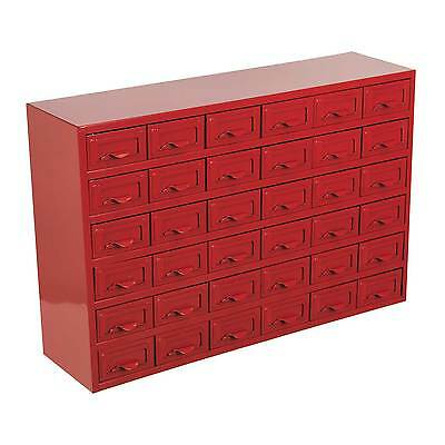 Sealey Garage/Workshop Metal Steel Storage Cabinet Box - 36 Drawer - APDC36