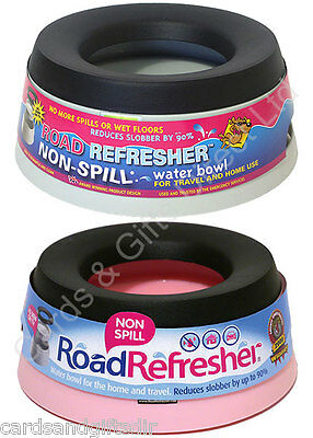 Road Refresher Non Spill Dog Puppy Bowl Water Pet Travel Dish Small Large