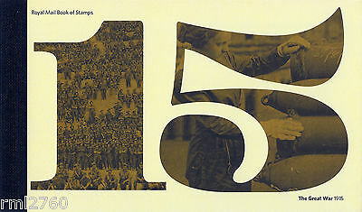 2015 The Great War - Prestige Stamp Book - Psb Dy13