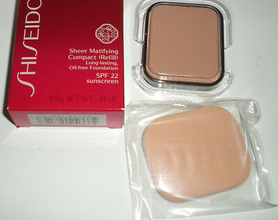 Shiseido Sheer Matifying Compact Foundation Refill  I100