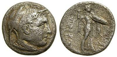 PTOLEMAIC KINGS of EGYPT Ptolemy I Soter AR Drachm Very Rare  4450