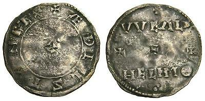 ANGLO-SAXON Kings of Wessex Aethelstan 924-939 AR Penny VF Very Rare  4445