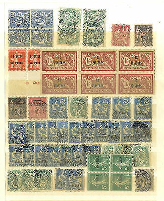 58 Timbres Levant