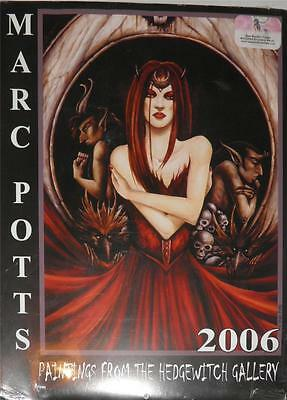 Marc Potts 2006 Paintings from the Hedgewitch Gallery Calendar Dark Fairy Fearie