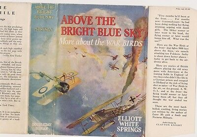 Elliott White Springs. Above the Bright Blue Sky.  More About the War Birds.