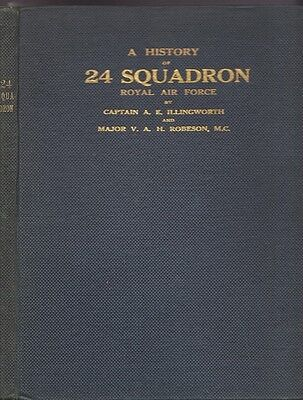 A History of 24 Squadron, Sometime of the Royal Flying Corps and later... WWI
