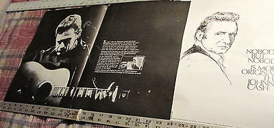 Johnny Cash - 13 Pages Of Billboard Ads From April & May  - 1970 ---- K @ @ L
