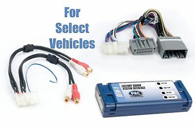 Chrysler Dodge Jeep Add An Amp Amplifier Adapter Interface to Factory OEM System