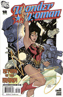 WONDER WOMAN #18 (2007) - Back Issue