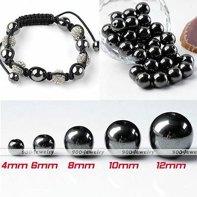 Magnetic/Non Magnetic Hematic Ball Loose Beads Craft Finding Charms Spacer DIY