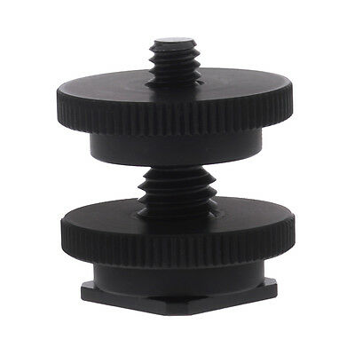 Neewer 1/4-3/8 Tripod Mount Screw to Flash Cold Shoe Adapter for Camera UD#15