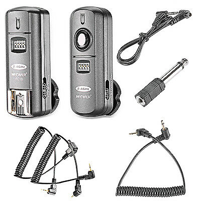 Neewer Multi-Channel 2.4GHz 3-IN-1 Wireless Flash Trigger for Canon