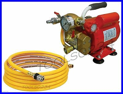 Hydrostatic Test Pump 110V 60 HZ 500 PSI 2GPM 08170 Single Phase Reed EHTP500