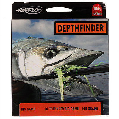 Airflo NEW Depthfinder BIG GAME Fly Fishing Line Front Taper 30 Head RRP £59.99