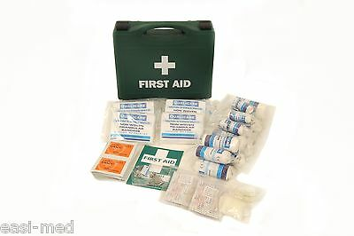 20 Person STANDARD HSE Workplace First Aid Kit c/w Wall Bracket