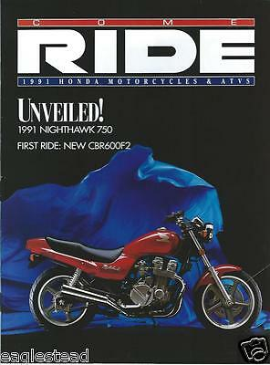 Motorcycle Brochure - Honda - Product Line Overview - 1991 - ATV  (DC377)