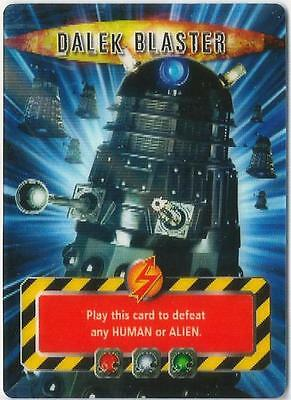 Dr Doctor Who Battles in Time Invader Dalek Blaster Card - Ultra Rare