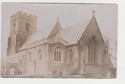 RPPC,Wisbech,U.K.Church,Cambridgeshire,Photo by Jeffrey,Used,Wisbech,1908