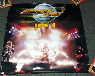 "1988 *FREELEYS COMET* ACE FREHLEY LIVE CONCERT POSTER 24X24"" *KISS*"