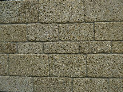 100 sq ins Real York Coursed Sandstone Miniature Stone for Dolls Houses & Models
