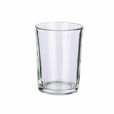 120 x Clear Glass Votive TeaLight Candle HOLDER ONLY