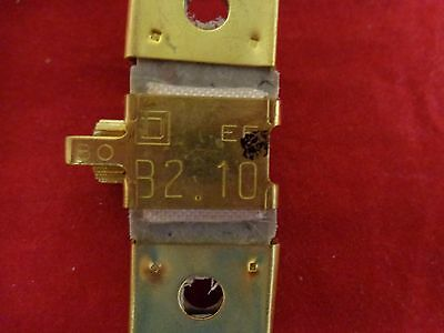 B2.10 Square D Overload Relay Thermal Unit (1 Box)
