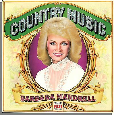 Barbara Mandrell - Country Music - New 1981 Time/Life Country Hits LP Record!