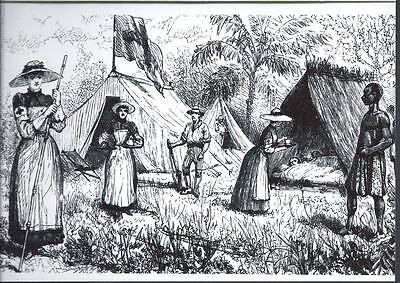 Rhodesia, Early Photograhs, Copies, Sisters Of The Red Cross 1891,From Engraving