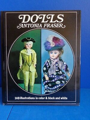 1973 Reference Book On Antique Dolls By Antonia Fraser-