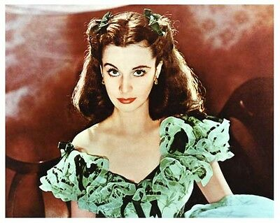VIVIEN LEIGH color artwork still GONE WITH THE WIND - (a094)