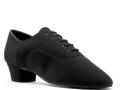 Boys Mens Black Ballroom Latin Dance Shoes LATINO FLEX All Sizes By Topline