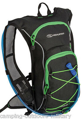 Highlander 9 L Hydration Backpack Rucksack Pack & water bladder Cycling Running