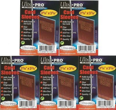 Ultra Pro 500 Soft Card Sleeves Trading Card Deck Protectors - Fits Most Cards